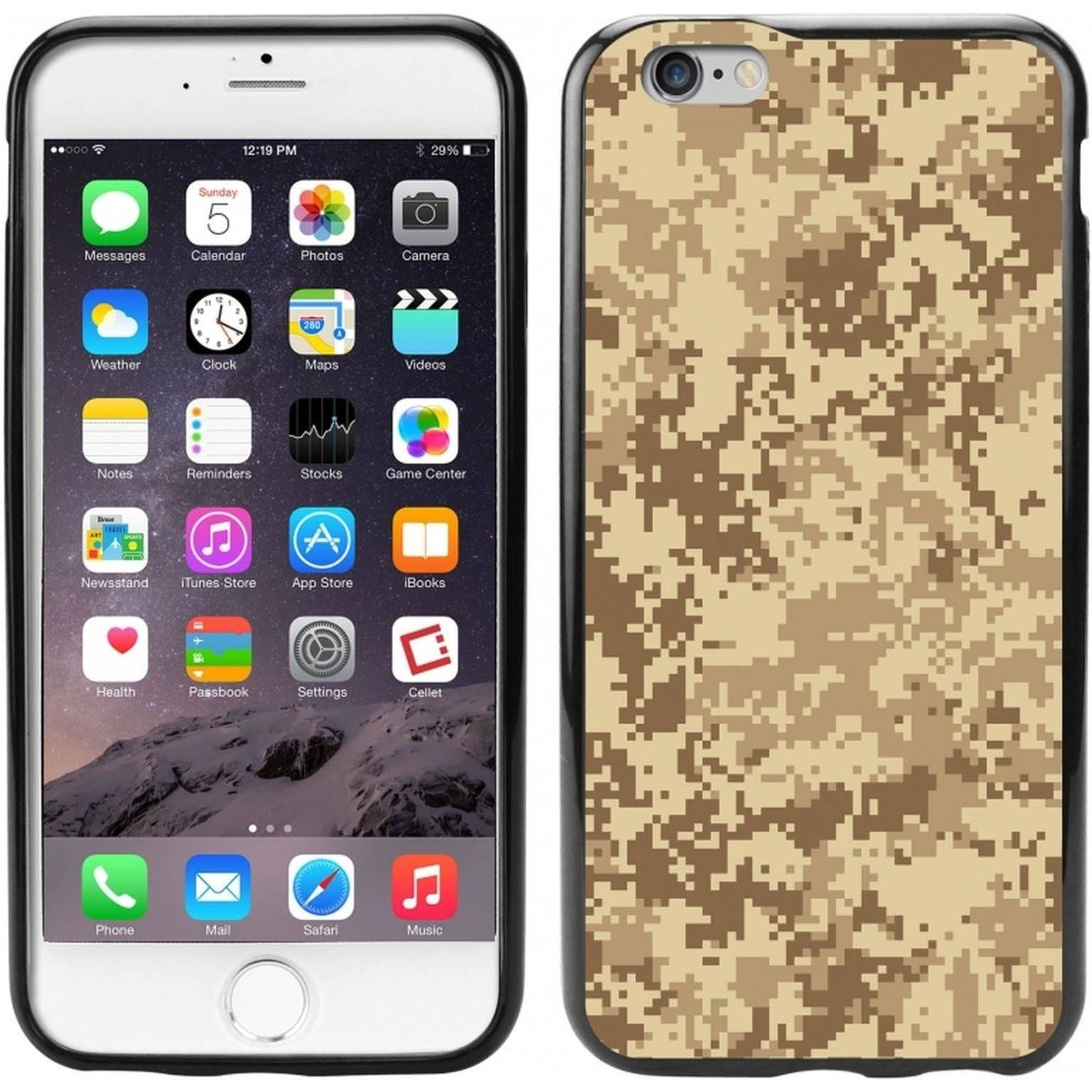 Cellet TPU/PC Proguard Case with Camouflage for Apple iPhone 6