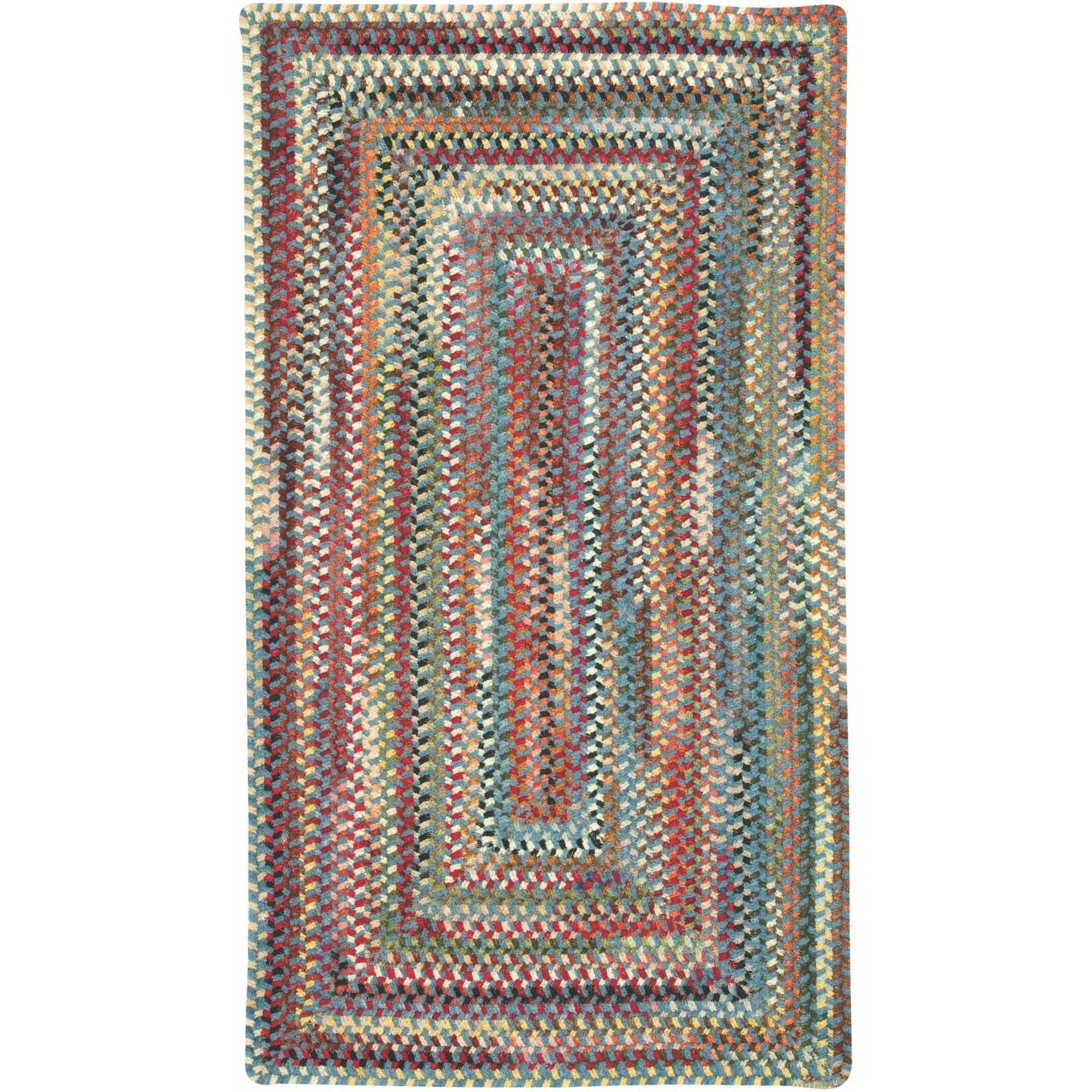 Eaton Concentric Braided Area Rug