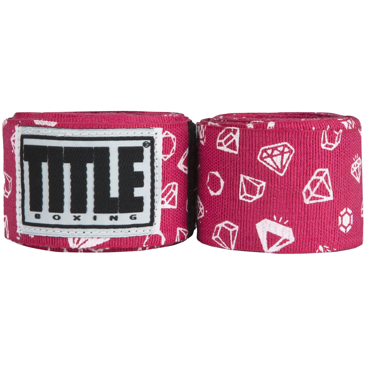 """Title Boxing 180"""" Print Semi-Elastic Stretch Mexican Style Handwraps"""