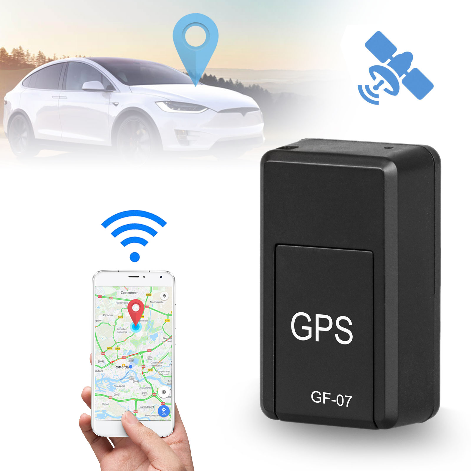 Track My Car >> Magnetic Mini Car Gps Tracker Real Time Tracking Locator Device