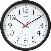 "AcuRite 14.5"" Timex Set and Forget Wall Clock"