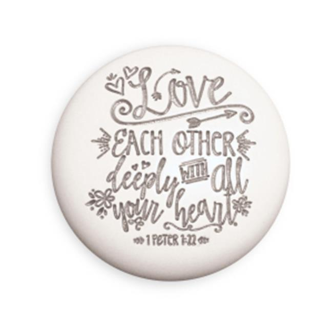 Lighthouse Christian Products 192269 Plaque-All My Heart - Round - No. 11685 - image 1 of 1