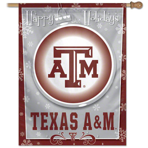 Texas A&M Aggies Vertical Outdoor House Flag