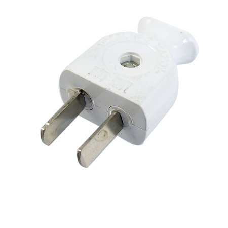 250V 10Amp Rotating 2 Pin US AU Power Cable Connector Electrical Plug (Rotating Electrical Connector)