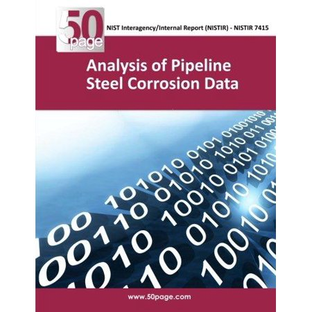 Analysis Of Pipeline Steel Corrosion Data