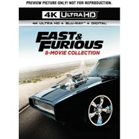 Fast & Furious: 8-Movie Collection (4K Ultra HD + Blu-ray)