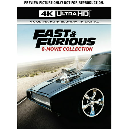 Fast & Furious: 8-Movie Collection (4K Ultra HD +
