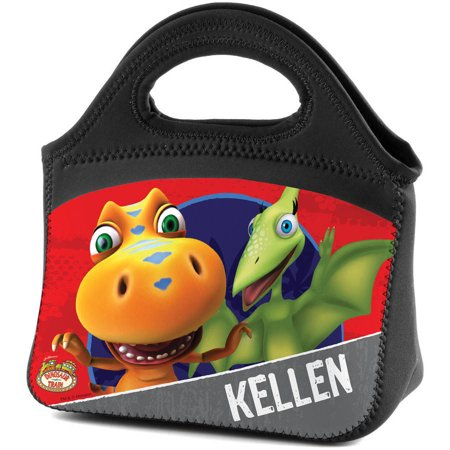 Personalized Dinosaur Train Red Lunch Tote