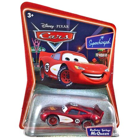 Disney Cars Supercharged Radiator Springs McQueen Diecast Car