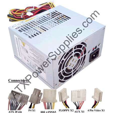 Genuine ATX-300GU (NOT A SUBSTITUTE) 300W Power Supply for Bestec ...