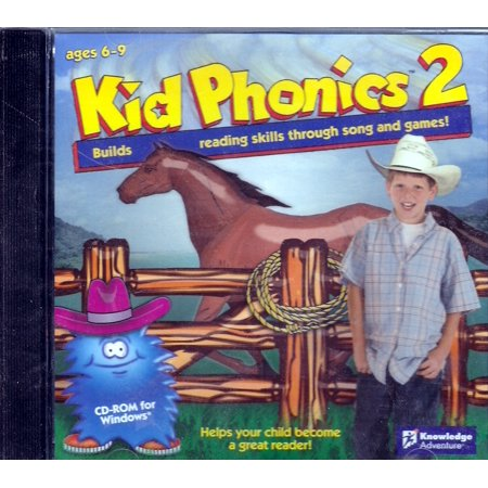 Kid Phonics 2 CDRom: Builds Reading Skill Through Song and Games - For Windows 98,Me,XP Digital Camera Solution Cd Rom