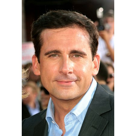 Steve Carell At Arrivals For Get Smart Premiere Mann Village Theatre Westwood Ca June 16 2008 Photo By James Amhersteverett Collection Photo Print