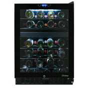 46-Bottle Dual-Zone Touch Screen Wine Cooler