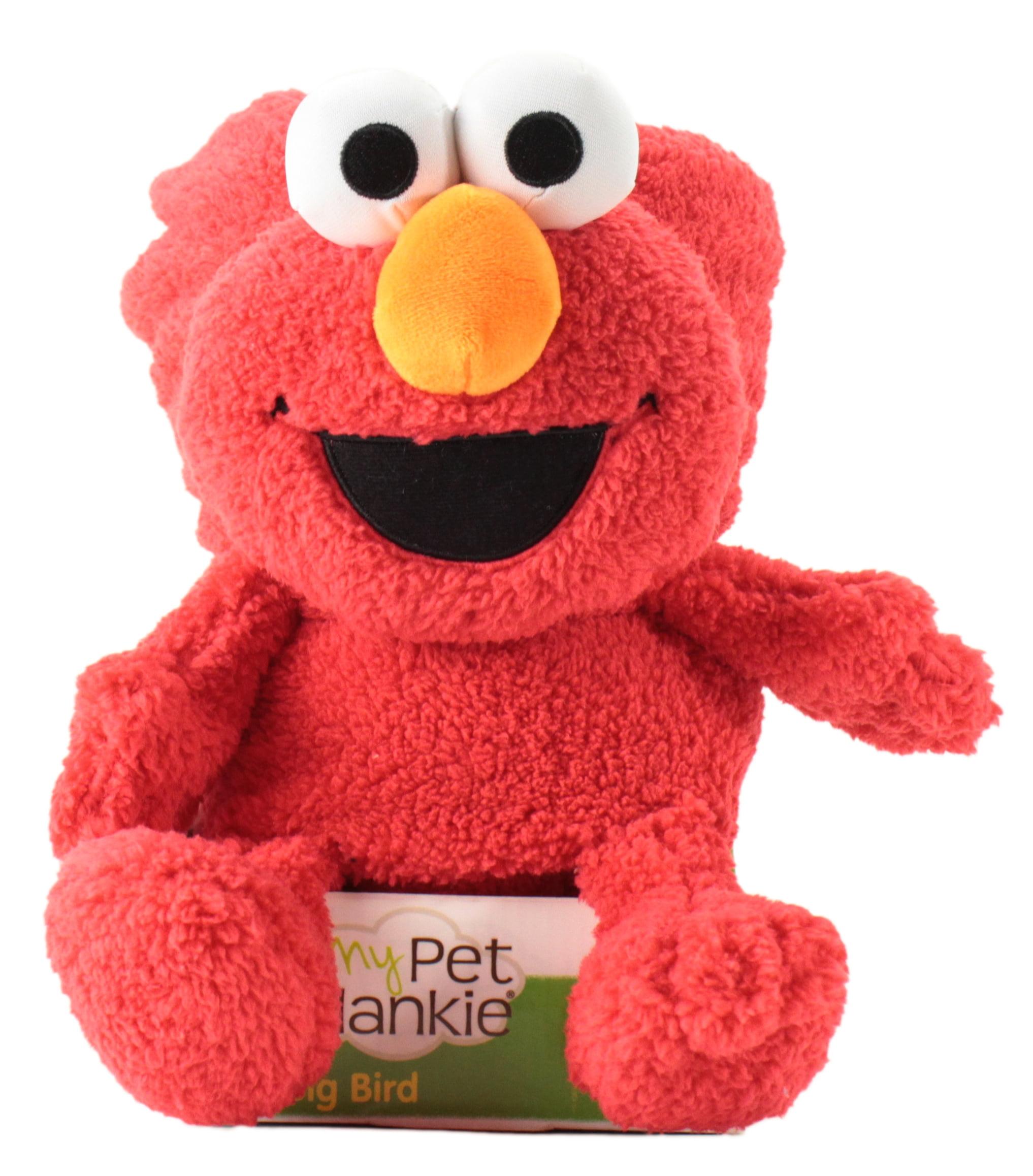 """Sesame Street's Elmo My pet blankie Fleece Blankie   Soft & Cuddly Plush Elmo Blankie   26"""" X 39""""  ... by Animal Adventure LLC."""