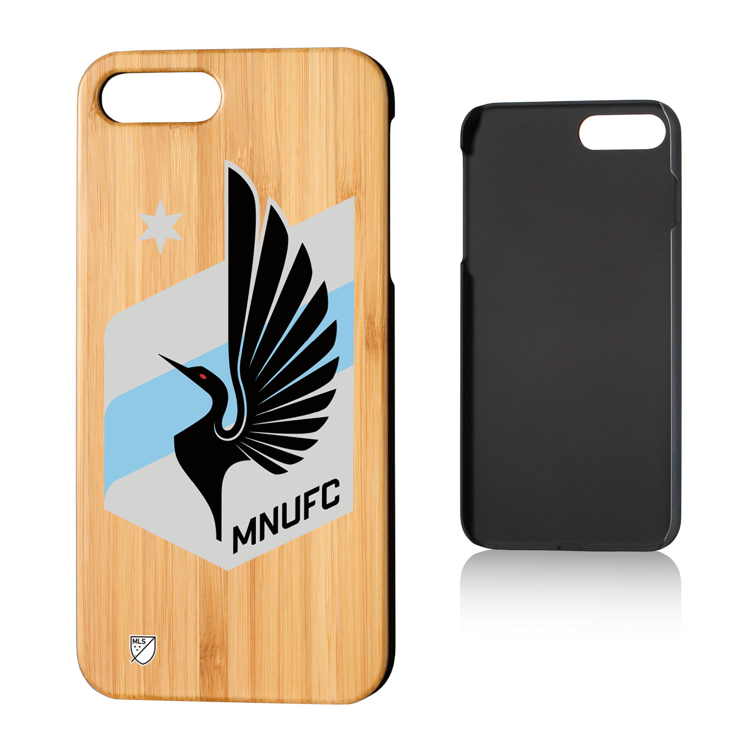 Minnesota United FC MNUFC Insignia Bamboo Case for iPhone 8 Plus / 7 Plus