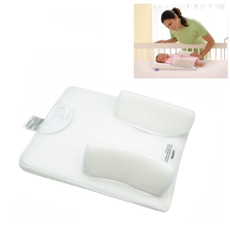 Crib Wedge and Sleep Positioner Baby Infant Newborn Anti Roll Pillow ()