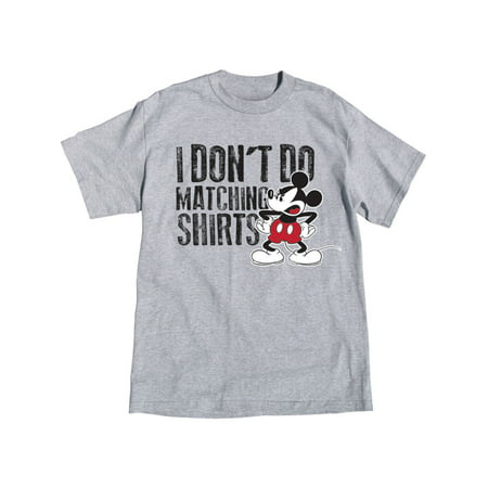 Disney Adult Mickey Don't Do Matching Tee Medium for $<!---->