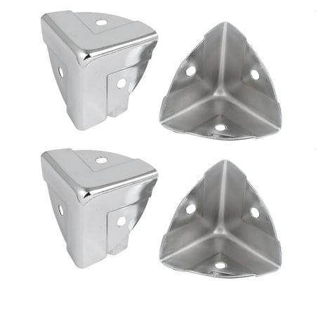 Wooden Case Box Cabinet Iron Edge Corner Protectors Covers ...