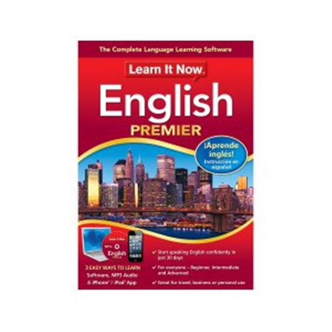 Learn It Now English, PC (Email Delivery)
