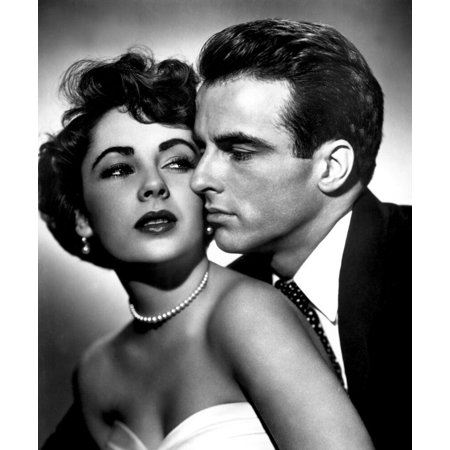 A Place In The Sun Elizabeth Taylor Montgomery Clift 1951 Photo Print - Item # (Montgomery Clift A Place In The Sun)
