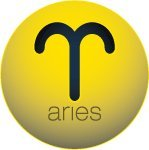 Happy Balls Aries Sign Antenna Topper