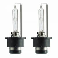 HID Headlight Bulbs Replacement Xenon D4R 35W 6000K White (x2)