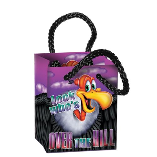 "Club Pack of 48 Multi-Colored ""Over The Hill"" Mini Gift Bag Party Favors 3.25''"