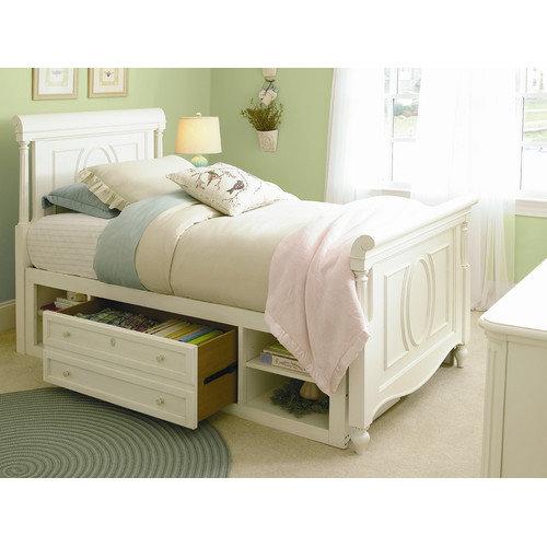 SmartStuff Furniture Gabriella Storage Sleigh Bed
