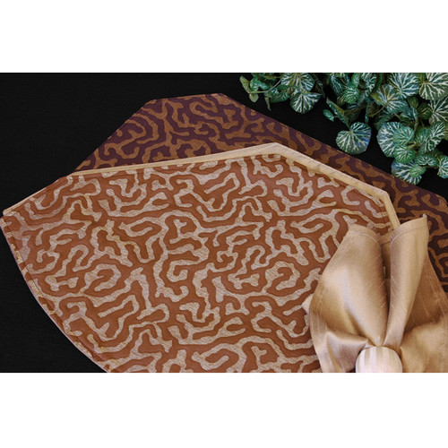 Pacific Table Linens Illusions Table Linens Reversible Placemat (Set of 2)