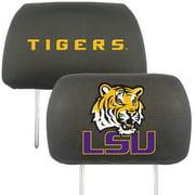 NCAA Louisiana State University Tigers  Head Rest Cover Automotive Accessory