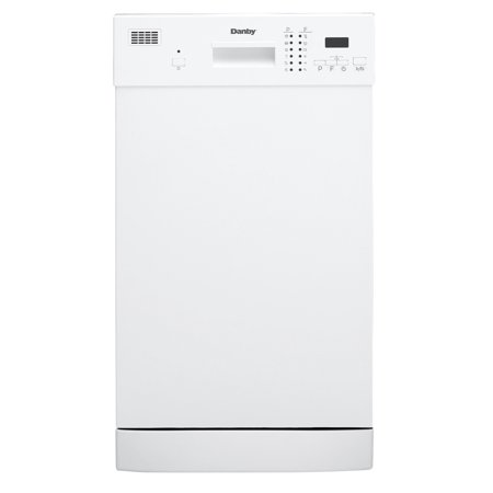 "Danby 18"" Built-in Dishwasher in White"
