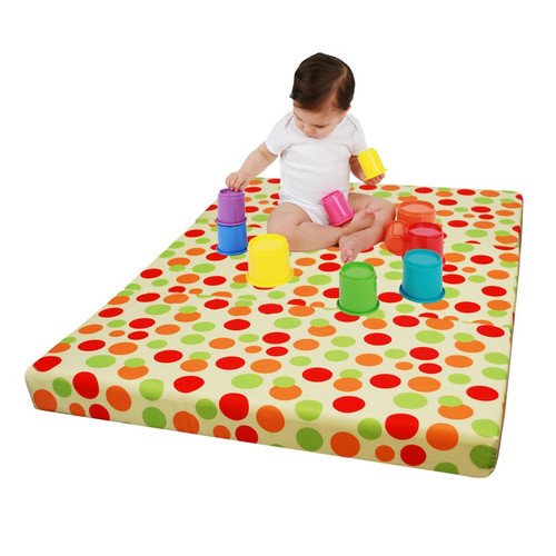 Clevamama Foam 3 in 1 Travel Cot Mattress, Play Mat and Seat (ClevaFoam, 95x65 cm)