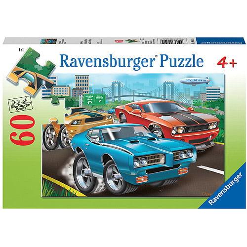 Ravensburger Muscle Cars Puzzle, 60 Pieces
