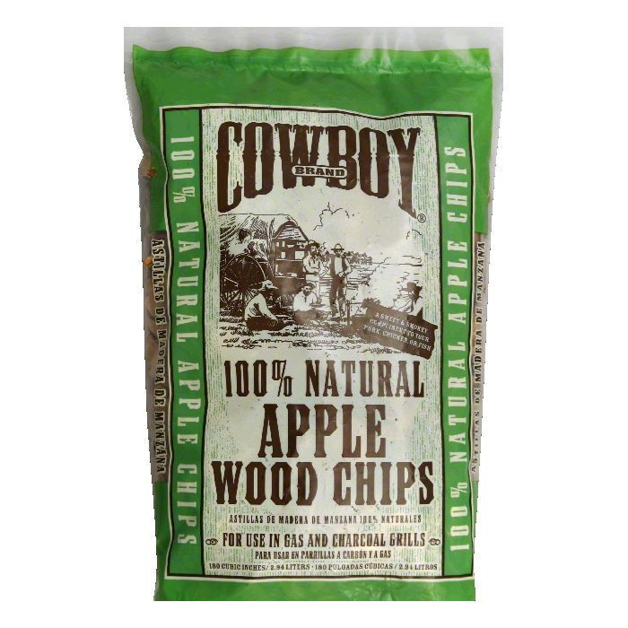 Cowboy Wood Chips, Apple, 100% Natural