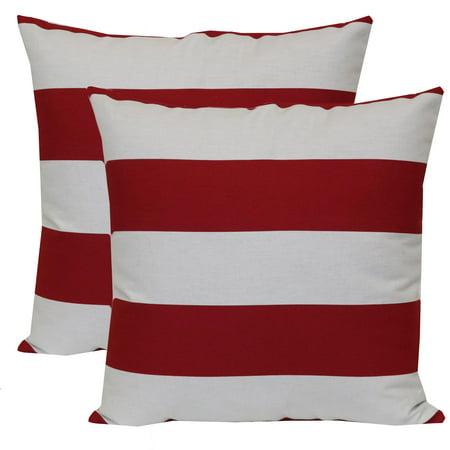 - Mainstays Outdoor Toss Pillow, 16