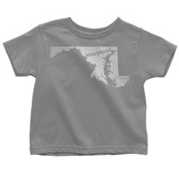 18-24 Months / Gray Maryland Baby Tee Home Shirt