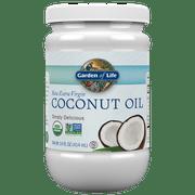 Garden of Life Organic Extra Virgin Coconut Oil 14oz Liquid (in Plastic)