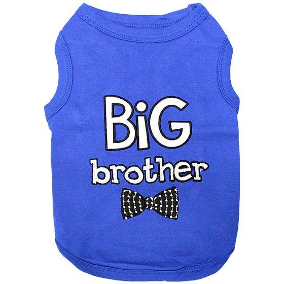 f86f885dae5 Parisian Pet Dog Clothes BIG BROTHER T-Shirt - Walmart.com