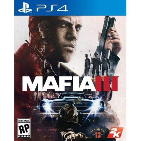 Mafia III, 2K, PlayStation 4, 710425476662