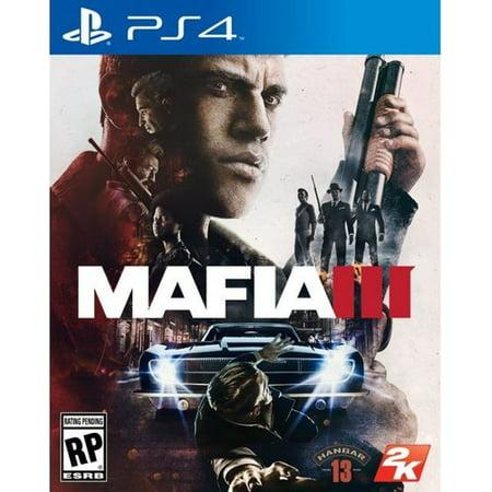 Mafia III, 2K, PlayStation 4, 710425476662 (Three 6 Mafia Chapter 1 The End)