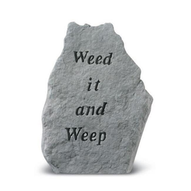 Kay Berry- Inc. 81920 Weed It And Weep Garden Accent 8 Inches x 11 Inches by Kay Berry