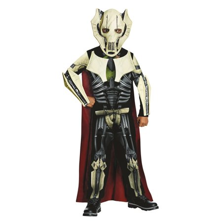Star Wars Boys General Grevious Halloween Costume - Female Movie Star Halloween Costumes