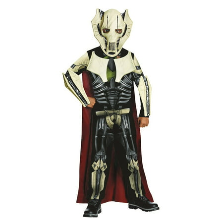 Star Wars Boys General Grevious Halloween Costume - Halloween Costume Ideas Movie Stars