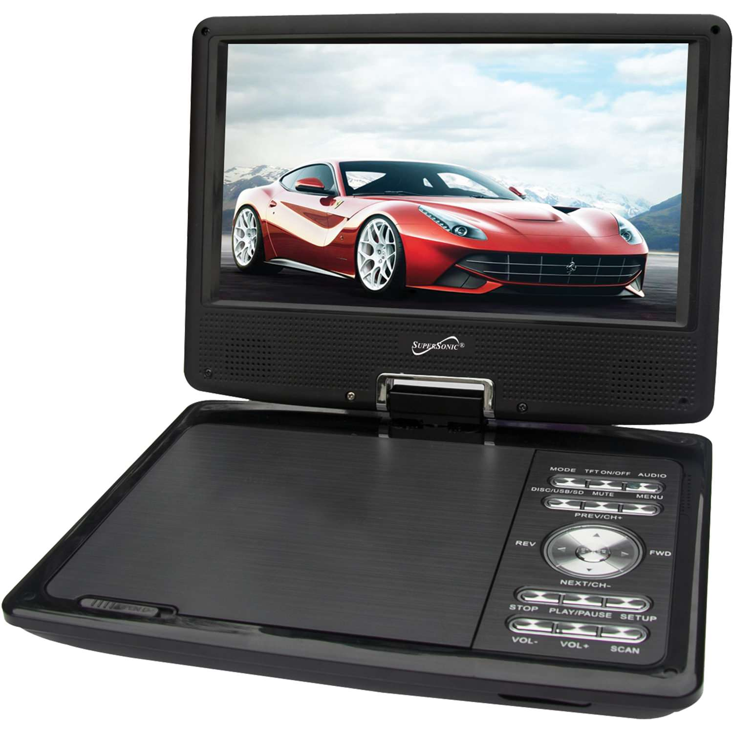 9� DVD Player with TV Tuner by Supersonic