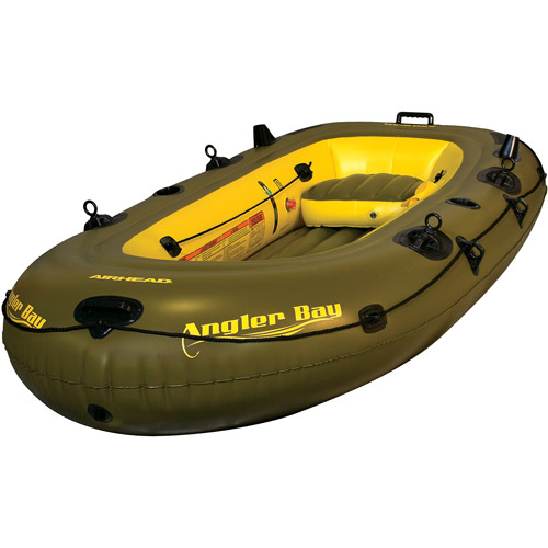 Airhead Angler Bay Inflatable Boat, 3-Person