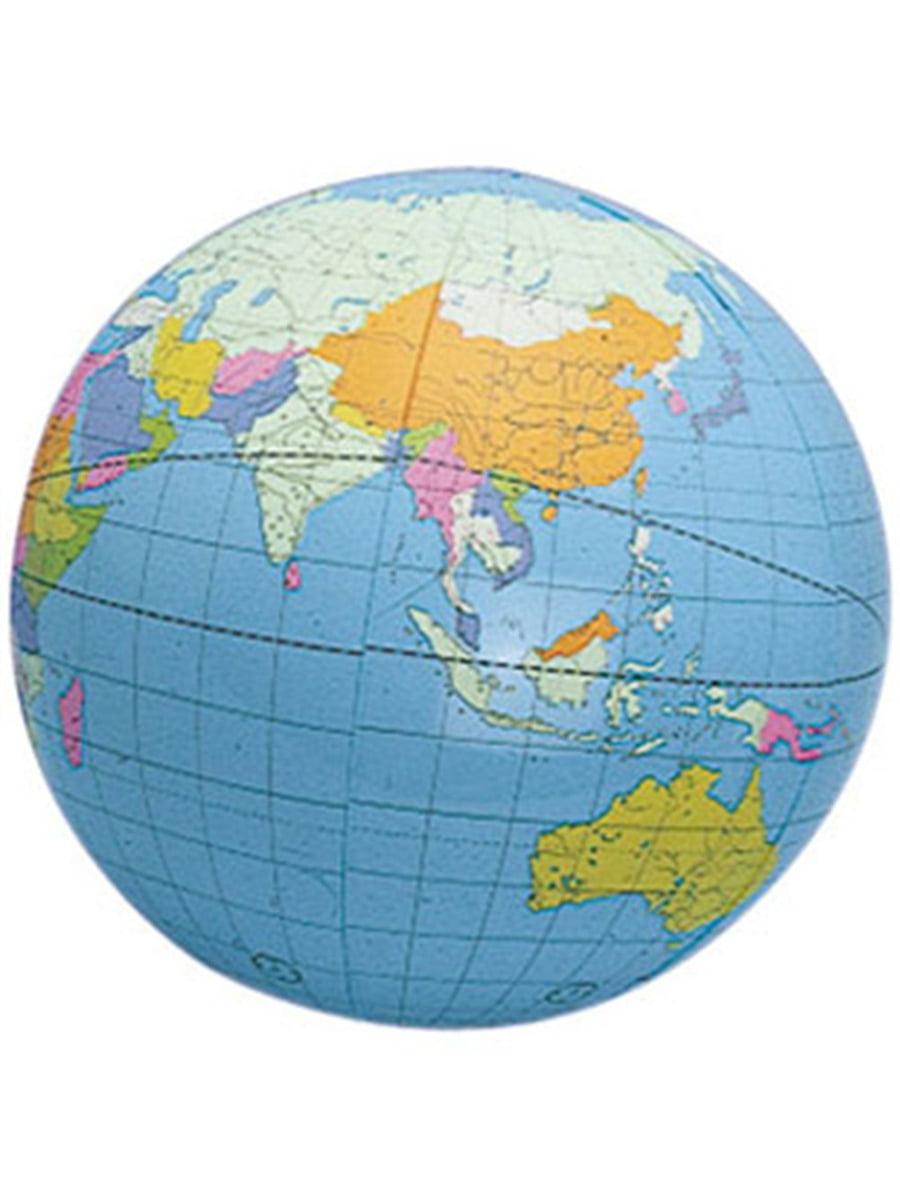 World Map Home Decor Balls on