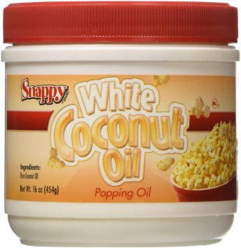 Snappy Pure (White) Coconut Oil (1 Lb.)