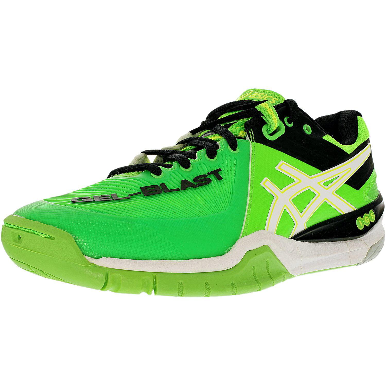 Asics Men's Gel-Blast 6 Neon Green/White/Black Ankle-High...