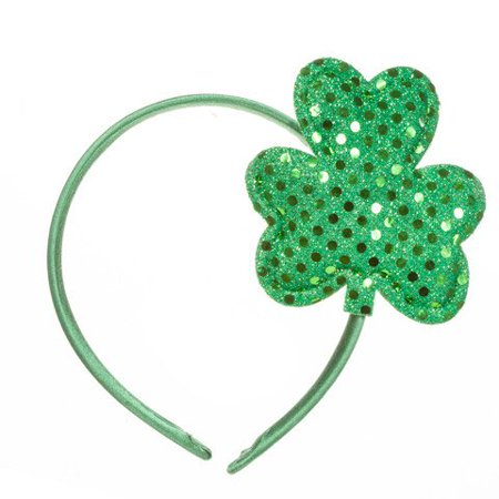 Looking to add a little green to your St. Patrick's Day ensemble? All you have to do is slip on our shamrock headband to create festive holiday style.