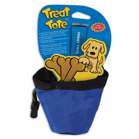 - Chuckit! Treat Tote Dog Treat Pouch Assorted Colors 1 Cup